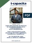 Temario - Como Implementar Un Proceso de Seguridad - 01 y 02 de Julio