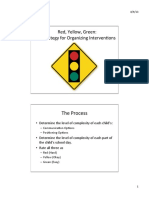 red-green-yellow - individual and classroom planning