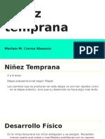 Niñez Temprana