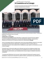 29-02-16 Asume Pavlovich Comisión en la Conago - El Universal