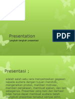 langkah-langkah presentasi baik dan benar