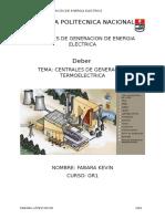 termoelectricas en el ecuador