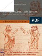 Wolfgang David Cirilo de Melo-The Early Latin Verb System_ Archaic Forms in Plautus, Terence, And Beyond (Oxford Classical Monographs) (2007)