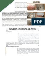 Galería Nacional de Arte