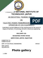 HEERAPURA JAIPUR TRAINING REPORT