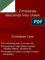 Zimbabwe Case Pptx
