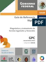 Hernias Inguinales y Femurales