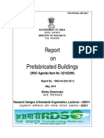 Report on Prefacbricated Buildings