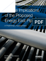 Energy East Climate Implications