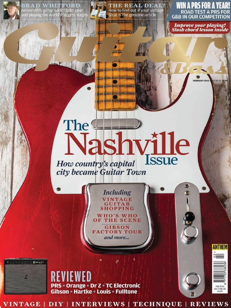 Guitar Bass February 2016 Country Music Guitars