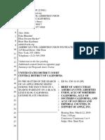 ACLU Apple Amicus Brief