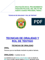 DIAPO TECNICAS DE ORALIDAD Y ROL DE TESTIGO.ppt