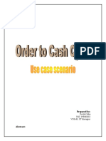 Order to Cash Use Case