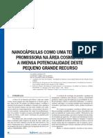 Nanocapsulas Cosmético