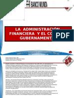 La Administracion Financiera y El Control Gubernamental (2)