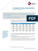 Take a Systematic Approach to Long-Term Investing