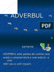 Adverbul v Viii