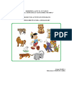 27-CimpanuLidia-Proiect Pinochio in Lumea Animalelor