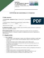 Contract de Parteneriat Cu Parintii