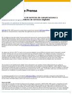 NP SAP Ayuda a Proveedores de Servicios de Comunicaciones a Transformarse en Proveedores de Servicios Digitales