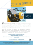 THE TYPEWRITER Curriculum Guide