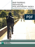 Philanthropy in Middle East Asia Report