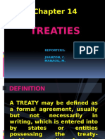 Pil Report on Treaty