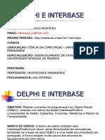 Delphi e Interbase