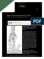 Angel of the Sea (Darkness & Chaos) _ GnosticWarrior.com