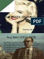 Na Morte de Marilyn