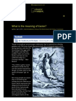 What is the Meaning of Easter_ _ GnosticWarrior.com