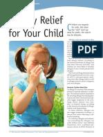 allergies kids 092911