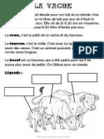 Dossier La Vache 2