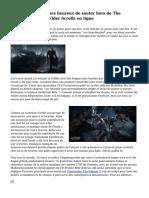 Pourquoi We sommes heureux de sauter hors de The Witcher 3 et dans Elder Scrolls en ligne
