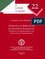 Arcos-¿Guerras en Defensa de Los Derechos Humanos¿