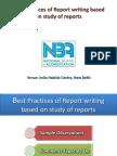 Report Writing 16.11.2015
