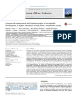A review of commitment and implementation of sustainable development in higher education, results from a worldwide survey.pdf