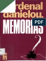 Cardenal DANIELOU, Memorias, Mensajero, 1975