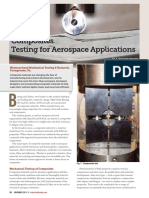 Composites Testing for Aerospace Applications