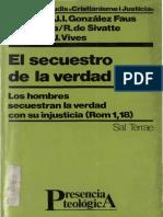 (SAL TERRAE) Aa.vv., El Secuestro de La Verdad (Rom 1,18)