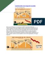 Problema de Desaceleración Con Riesgo de Recesión