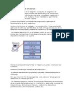 Sistema Operativo y Funciones