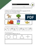 Evaluación Inicial Lengua 1º