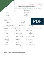 Guia de Matemática II Año Funciones Trascendentales 2016