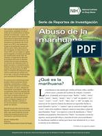 Serie Reportes Investigacion Abuso de La Marihuana NIDA