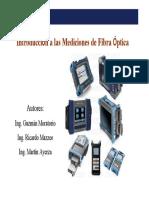 Medidas Opticas f.o.con Modulos Oct12