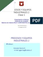 Presentación Del Módulo Equipos industriales