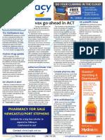 Pharmacy Daily for Thu 03 Mar 2016 - ACT Pharmacists Flu vax, Multivitamins, SCR, Katz Group, Adherium, Medsafe, TGA AMPERSAND more