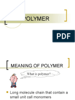 9.4 (a) Polymers