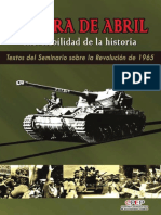 Guerra Abril Inevitabilidad de La Historia